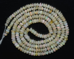 18.20 Ct Natural Ethiopian Welo Opal Beads Play Of Color OB1057