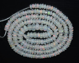 31.20 Ct Natural Ethiopian Welo Opal Beads Play Of Color OB1059