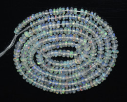 17.75 Ct Natural Ethiopian Welo Opal Beads Play Of Color OB1064