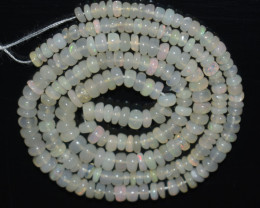 31.40 Ct Natural Ethiopian Welo Opal Beads Play Of Color OB1065
