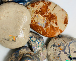 Colourful Bright & Beautiful Nobby Opals