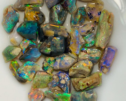 Select Nobby Rough Opals Full of Colours - Lots of Cutters