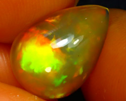 Welo Opal 2.45Ct Natural Ethiopian Play of Color Opal JR94/A44