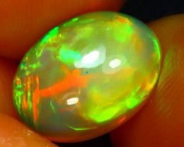 Welo Opal 2.27Ct Natural Ethiopian Play of Color Opal JR95/A44