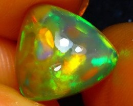 Welo Opal 2.54Ct Natural Ethiopian Play of Color Opal JR103/A44