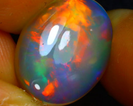 Welo Opal 4.42Ct Natural Ethiopian Play of Color Opal JR121/A44