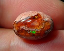 5.5ct Mexican Matrix Cantera Multicoloured Fire Opal
