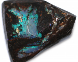 60 CTS WOOD FOSSIL ROUGH  OPAL-MINED IN JUNDAH [BY9140]