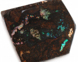 141 CTS WOOD FOSSIL ROUGH  OPAL-MINED IN JUNDAH [BY9150]