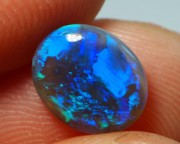 1.35CT BLACK OPAL  LIGHTNING RIDGE AL816