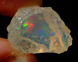 13ct Natural Rough Mexican Fire Opal