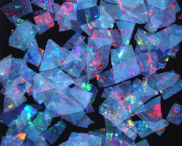 2.07 CTS THIN CRYSTAL SLICES PARCEL .IDEAL MOSAIC -[MS8016]