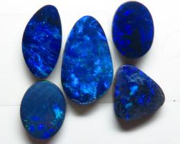 Free form 4.97ct  5 Stone Australian Doublet Opal Parcel