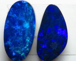 Free Form 2  Stone 5.14ct Australian Doublet Opal Parcel