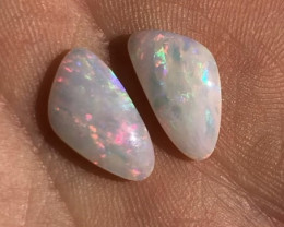 4.3cts free form Coober Pedy pair