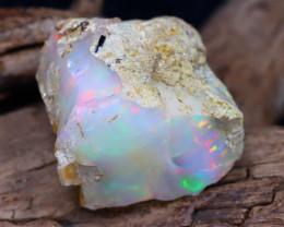 Welo Rough 20.61Ct Natural Ethiopian Play Of Color Rough Opal E1509
