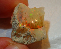 13.96ct -#A9 - Gamble Rough from Wello Dalanta