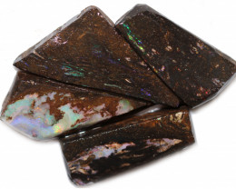 $24 EACH 276 CTS WOOD FOSSIL ROUGH OPAL PARCEL-MINED IN JUNDAH [BY9203]