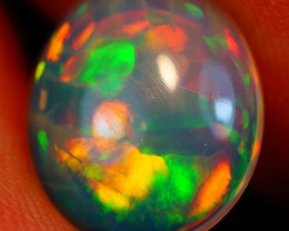 2.22 CT 12X10 MM Saturated Pattern!!  Welo Ethiopian Opal-IA607
