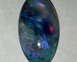 6.1 cts Solid dark opal from Lightning ridge