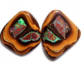 211.00 Cts Polished Yowah Opal Split CH453