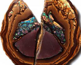 313.00 Cts Polished Yowah Opal Split CH457