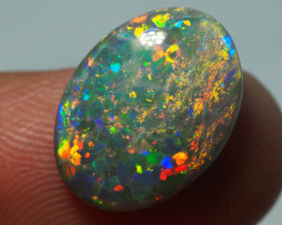 3.50CT BLACK OPAL  LIGHTNING RIDGE AL888