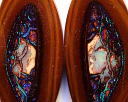 31.75cts Australian Yowah Opal Nut Pair DO-99