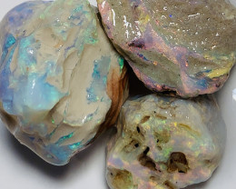 STUNNING NOBBY ROUGH OPALS TO CUT AND CARVE #877