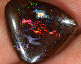 12.5ct 15.5x15mm Queensland Boulder Matrix Opal  [LOB-3412]
