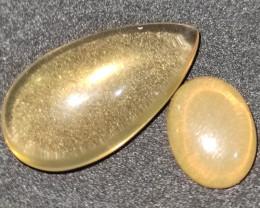10.20 cts Opalas de Fogo Lapidada