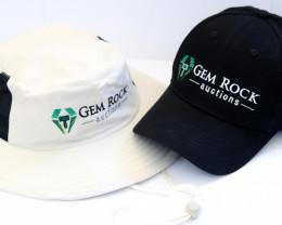 Gemrockauctions  Bushmans Hat and  Baseball Cap