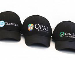 Opalauctions , Gemrockauctions ,Treasures  Baseball Cap