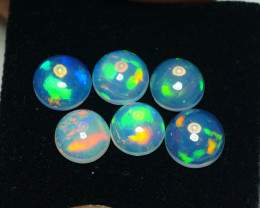 5.840 CRT BRILLIANT 6 PCS PARCELS BEAUTY MULTICOLOR WELO OPAL-