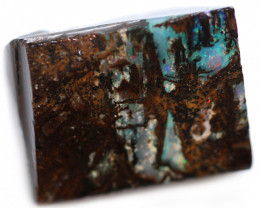 37 CTS WOOD FOSSIL ROUGH OPAL-MINED IN JUNDAH [BY9266]