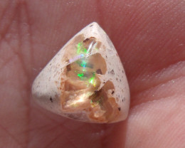 7.25 Ct. Mexican Cantera Fire Opal Cabochon