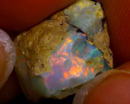 7.26Multi Color Play Ethiopian Welo Opal Rough J2922/R2