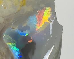 RAINBOW BLACK SEAM OPAL- 21 CTS #931