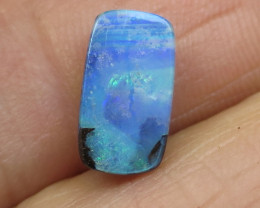 3.5cts. $1nr; GLOSSY NATURAL AUSSIE BOULDER OPAL.