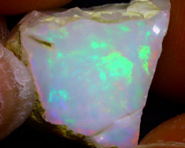 10.47Ct Multi Color Play Ethiopian Welo Opal Rough JF3019/R2