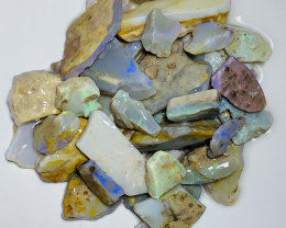 BIG ROUGH SEAM OPALS WITJ LOVELY COLOURS #945