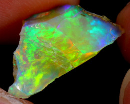 5cts Natural Ethiopian Welo Rough Opal / WR3162