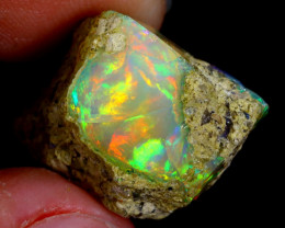 14cts Natural Ethiopian Welo Rough Opal / WR3205