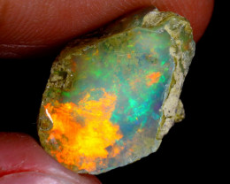 7cts Natural Ethiopian Welo Rough Opal / WR3213