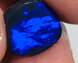 BLUE ON BLACK OPAL- 5 CTS RUB #959