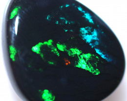2.45 CTS BLACK OPAL STONE-FROM LIGHTNING RIDGE - [LRO1322]