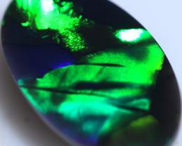 2.74 CTS FLASHY  BLACK OPAL STONE-FROM LIGHTNING RIDGE - [LRO1337]