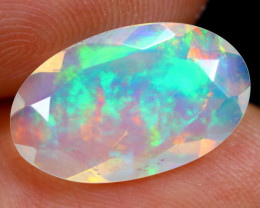 2.29cts Natural Ethiopian Faceted Welo Opal / HM606