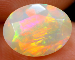 1.68cts Natural Ethiopian Faceted Welo Opal / HM616