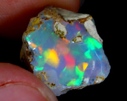 6cts Natural Ethiopian Welo Rough Opal / WR3221